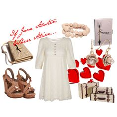 If Jane Austen Where Alive, created by patricia-teixeira on Polyvore