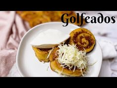 GOLFEADOS VENEZOLANOS! RECETA PASO A PASO - YouTube Venezuelan Recipes, Venezuelan Food, Waffles, Thanksgiving, Breakfast, Youtube, Step By Step, Breakfast Cafe, Waffle