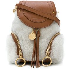 See By Chloé Shearling Olga backpack Hippie Backpack, See By Chloe Bags,  Bohemian Accessories 4d0bc86f13