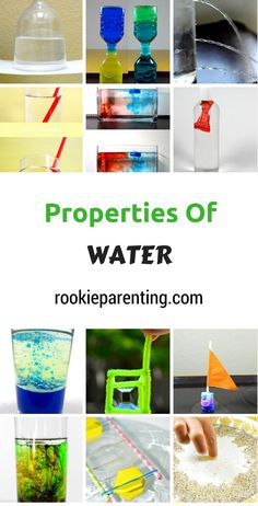 Great for chem-phys! 21 Water Experiments | Super Cool STEM Activities