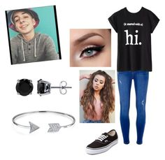 """Meeting bruhitszach"" by gracelandia on Polyvore featuring Clayton, Dorothy Perkins, Vans, Chicnova Fashion, BERRICLE and Bling Jewelry"
