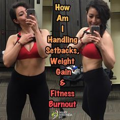 How am I handling setbacks weight gain and fitness burnout?  Lets talk real stuff here! It is perfectly okay to experience a setback and feel burt out. Im showing you my raw self and current status.  Im currently 140 lbs and that is okay with me! I am not competing prepping or killing myself to lose weight.  Im enjoying my life and learning to listen to my body.  A few weeks ago I noticed I wasn't as motivated in fitness (working out) as I used to be. Ive been in this lifestyle for 4.5 years…