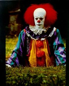 "Stephen King's ""It""... Nightmares for weeks. Creeps me out just looking at the picture now."