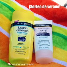 Neutrogena Family Sun Routine Products - Giveaway