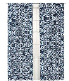 Kiran Blue Curtains