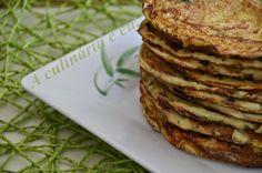 A Culinária e Eu ...: Panquecas de courgette