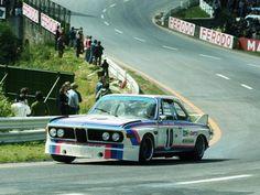 BMW 3.0 csl climbs the Raidillon Spa-Francorchamps