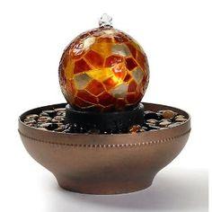 Homedics Artesian Globe Illuminated Fountain