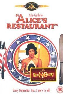 Alice's Restaurant (1969) pretty sure I already pinned it, but I love this one and Arlo is a big deal in my family...