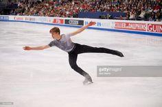 News Photo : Latvia Deniss Vasiljevs in action during Men's...