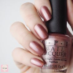 Chicago champagne toast | OPI Opi Nail Polish, Opi Nails, Manicure, Nail Polishes, Champagne Nails, Champagne Toast, Cute Nails, Pretty Nails, Nail Polish Collection