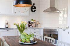 Кухонный фартук из квадратной плитки