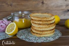 ταρτακια Lemon Curd Recipe, Pancakes, Muffin, Breakfast, Recipes, Food, Morning Coffee, Recipies, Essen