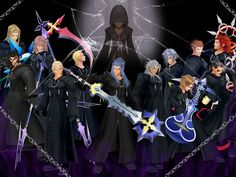 Organization XIII  - kingdom-hearts Photo