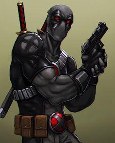 #Deadpool #Fan #Art. (Uncanny x-men: Deadpool) By: FonteArt. [THANK YOU FOR PINNING!!]
