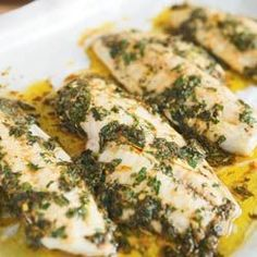 Chermoula Sauce and Fish - Moroccan Food - Moroccan Food Recipes
