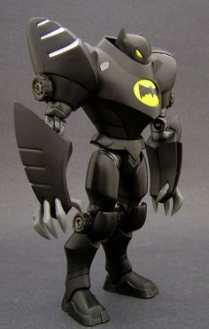 toycutter: Custom Action Figure: Animated Bat Sentry