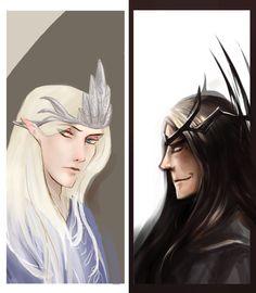 Manwë and Melkor