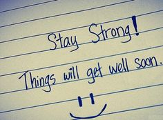 Get well soon quotes 16 pics