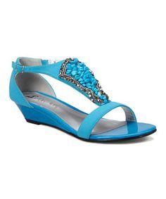 Blue Felicia Sandal