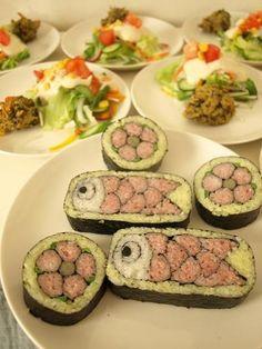 "Love this ""fish"" sushi"