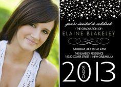 High School Graduation Party Ideas | High School Graduation Invitation Wording