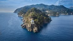 Portofino a tenger felől Seaside Village, Seaside Towns, Most Beautiful Beaches, Great View, Beach Day, Vacation Spots, Travel Inspiration, Lounge, Pictures