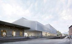 Durisch + Nolli · Nuovo Centro Professionale della Moda SAMS STA – Stazione FFS Chiasso