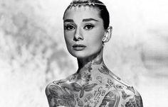 Juxtapoz Magazine - Cheyenne Randall Gives Celebrities an Inked Edge