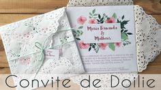 Como fazer Convite de Casamento de Doilie | Blog de Casamento DIY da Maria Fernanda