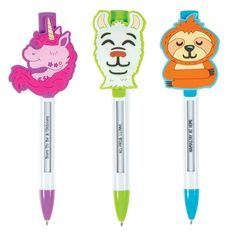 Ex-press yourself! Shop GEDDES for hundreds of fun and affordable toys and school supplies like our Spirit Animals Ex-press-It Pen. Majestic Unicorn, Spy Gadgets, Cute Pens, Pen Sets, Spirit Animal, Sloth, School Supplies, Arts And Crafts, Toys