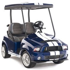 Ford Shelby GT500 Golf Car, Where dreams meet reality…where your love for Ford and golf can be combined into one. The new Ford Shelby GT500 Golf Car does exactly that!