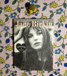 Jane Birkin's perfect style Japanese book by lapapeleriaantigua