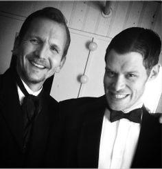 Joseph Morgan & Sebastian Roche
