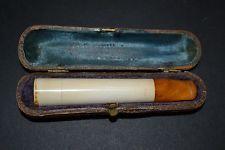 Vintage Natural Amber Merschaum Cigarette Holder - ORIGINAL CASE