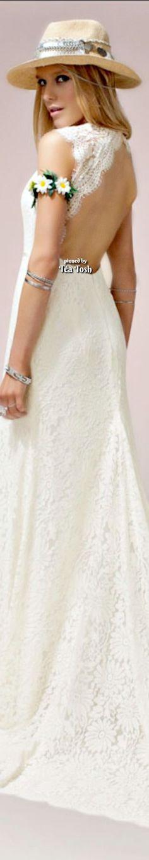 Romantic Table Setting, Daisy Mae, Olivia Culpo, Spring Fever, White Gardens, Formal Dresses, Wedding Dresses, Beautiful Dresses, Glamour