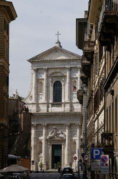 Rom, Largo dei Fiorentini, San Giovanni dei Fiorentini (St. John of the Florentines)