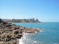 #Dinard #seaside #resort in #brittany #france #sea
