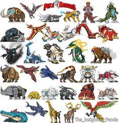 Power Rangers Wild Force, Power Rangers Fan Art, Dino Rangers, Pawer Rangers, Gundam, Transformers, Power Rangers Megazord, Mighty Morphin Power Rangers, Pokemon Fan Art