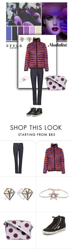 """Style with Quilted Jacket"" by modalist ❤ liked on Polyvore featuring Wood Wood, Just Cavalli, Noor Fares, Selim Mouzannar, Sophie Hulme and Superga"