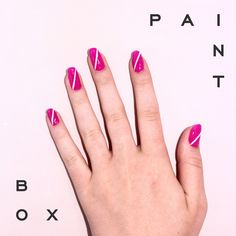 All Angles Covered by Arelis #paintboxmani #nails #nailart
