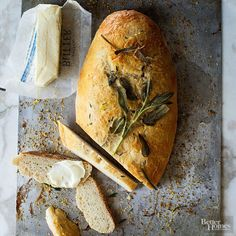 Make a crusty loaf of bread at home -- no kneading required. A few simple secrets like chilling overnight ensure this bread comes out perfect every time./