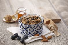 Wild Blueberry Almond Hot Cereal with Chia Seeds from Bolivia and Supergrains... #OPTAVIA30 #choosehealthalways