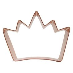 Crown Cookie Cutter (Medium)