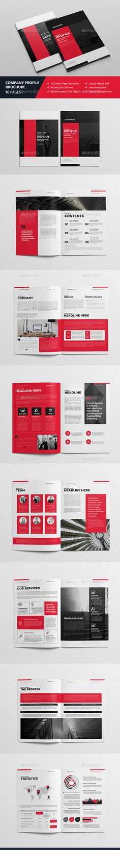 Company Profile Company profile, Corporate brochure and Brochures - business company profile template