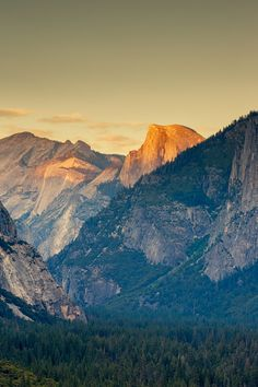 Half Dome at Sunset by Toby Harriman on 500px