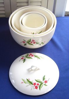 Vintage Universal Cambridge 5 Pc China by SwanCreekCottage on Etsy, $40.00