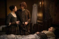 """Outlander Episode 212: """"The Hail Mary"""", we see Colum MacKenzie again and he doesn't look well."""