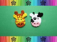 Cow and Giraffe Applique