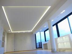 Faux-plafond lumineux - Agencement et Menuiserie haut de gamme à Aix en Provence - Felix Hegenbart